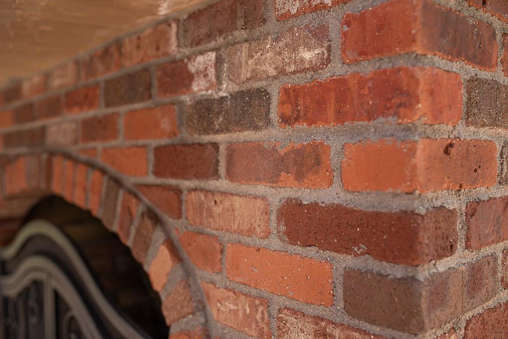 Brick Fireplace Corner