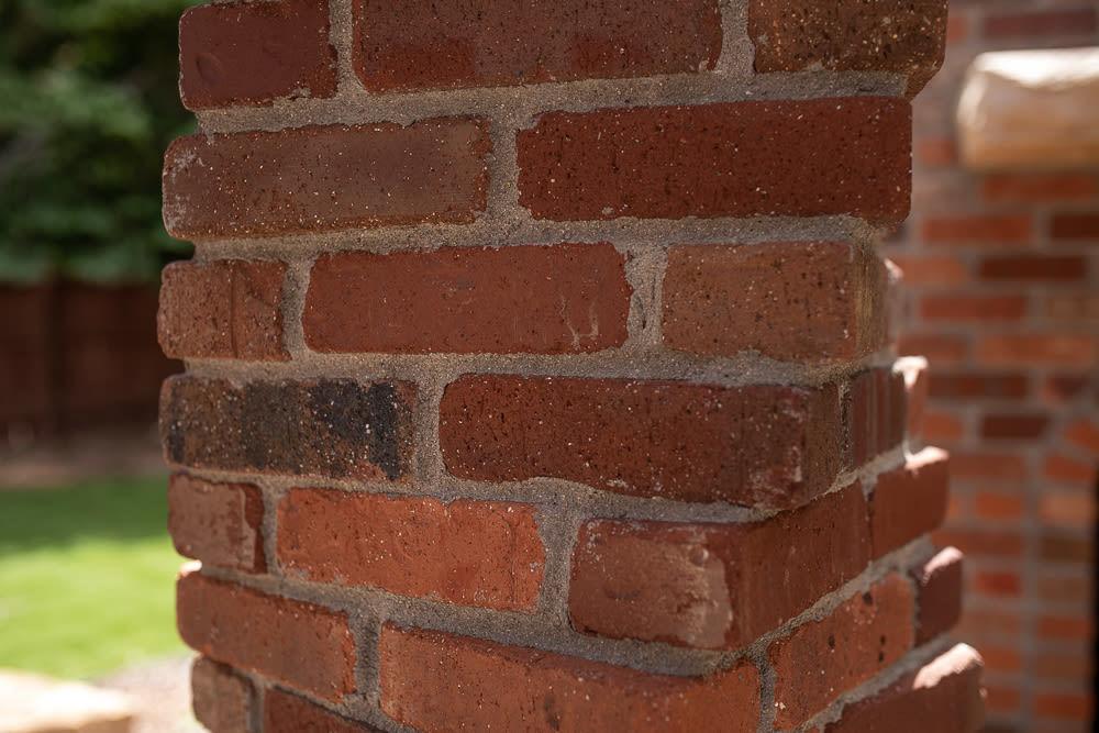 Brick Post For Gazebo