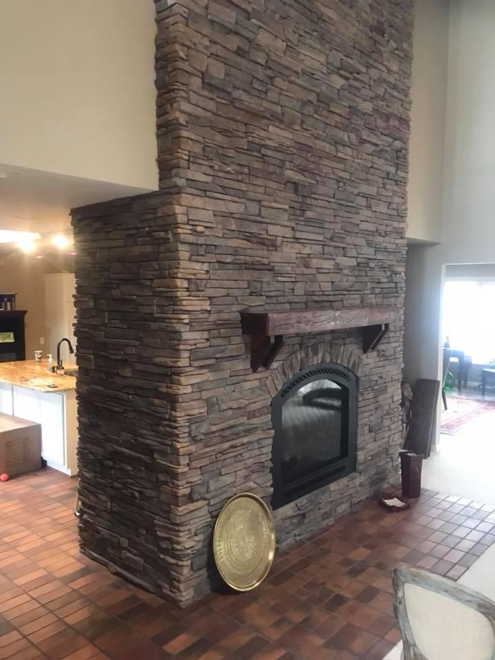 indoor fireplace - 1