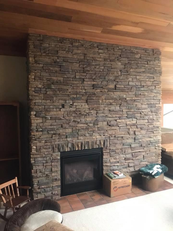 indoor fireplace - 2