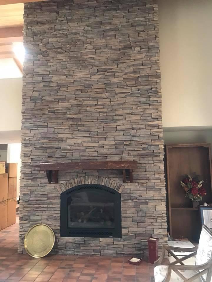 indoor fireplace - 3