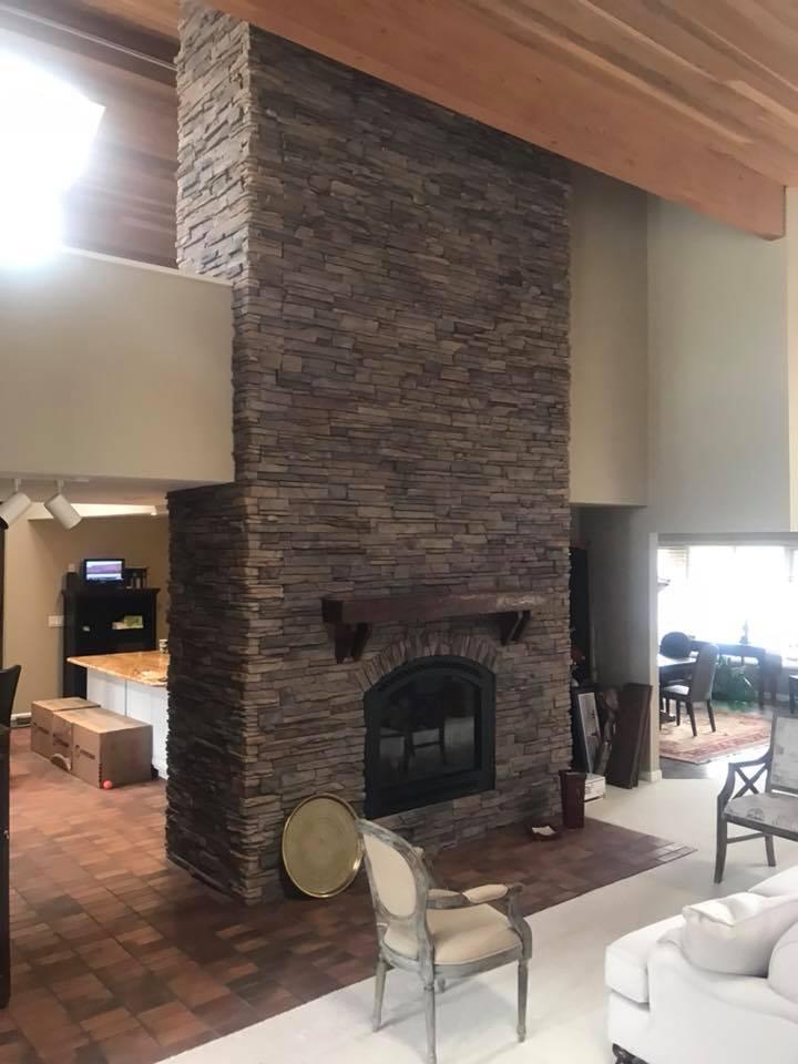 indoor fireplace - 4